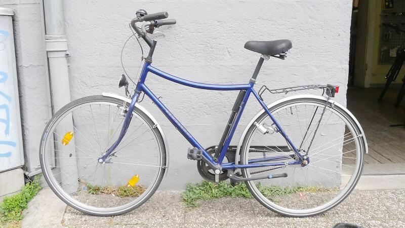 Rembrandts Fahrrad